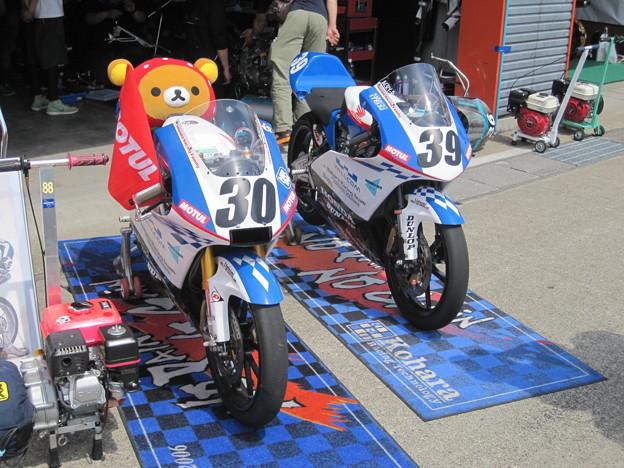 Photos: 岡崎静夏 HONDA NSF250R Kohara MFJ 全日本ロードレース J-GP3 SUPERBIKE もてぎ jrr IMG_8067