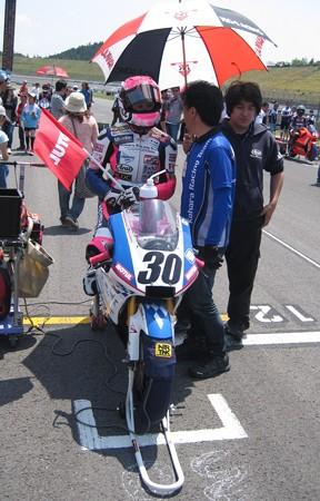 岡崎静夏 HONDA NSF250R Kohara MFJ 全日本ロードレース J-GP3 SUPERBIKE もてぎ jrr IMG_7984