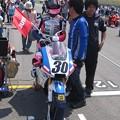 写真: 岡崎静夏 HONDA NSF250R Kohara MFJ 全日本ロードレース J-GP3 SUPERBIKE もてぎ jrr IMG_7984