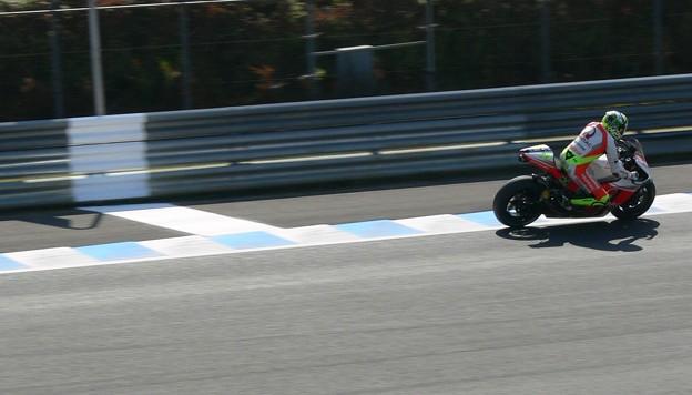 写真: 2 29 Andrea IANNONE Pramac Ducati Japan  motogp motegi もてぎ 2014 P1370350