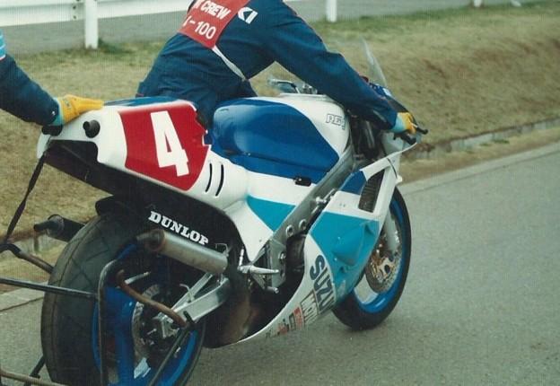 写真: 1987 SUZUKI  RGV-γ500 伊藤巧