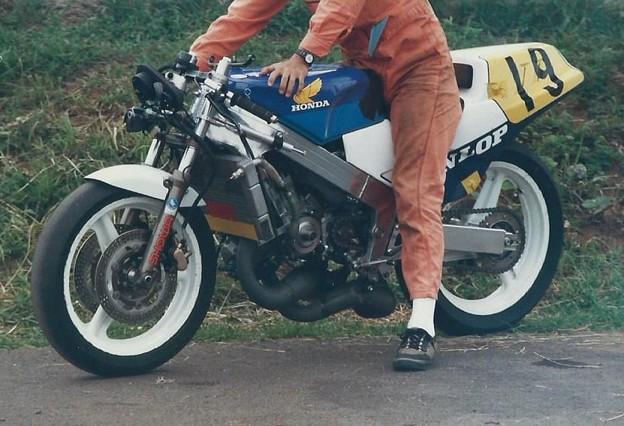 写真: 1987 全日本ロードレース NSR-RK HRC-F3コンプリート