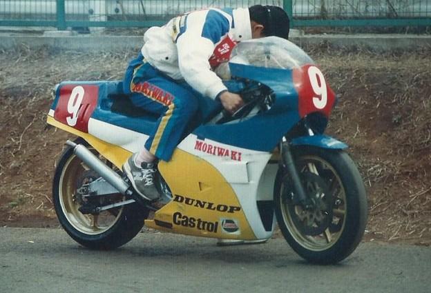 写真: 1987 モリワキ NS500 樋渡治