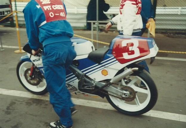 1987 HONDA NSR250 3 清水雅広 Masahiro Shimizu