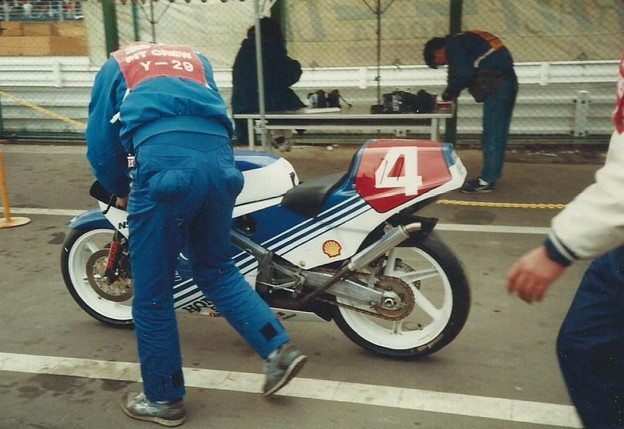 写真: 1987 HONDA NSR250 4 Masaru Kobayashi 小小林大 3
