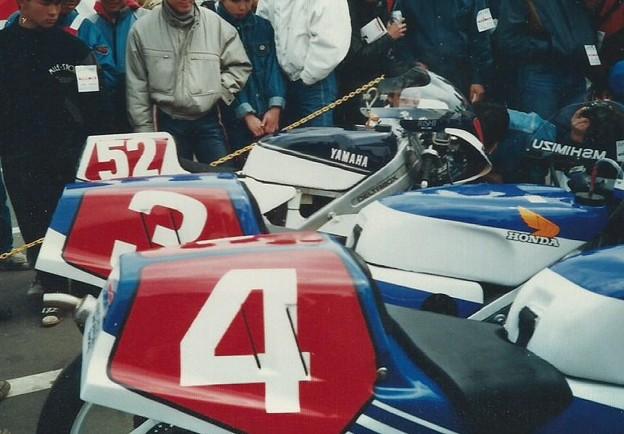 1987 HONDA NSR250 4 Masaru Kobayashi 小小林大 4