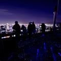 写真: 空中夜景