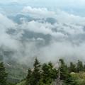 写真: 横手山山頂からの風景2