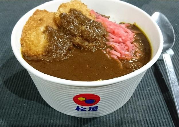 "Photos: <p dir=""ltr"">今日の晩御飯。牛丼チェーン店松屋のカレー(好物)×スーパー..."