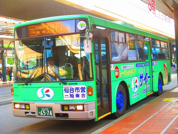 仙台市営バス川内営業所 S6574 - 写真共有サイト「フォト蔵」