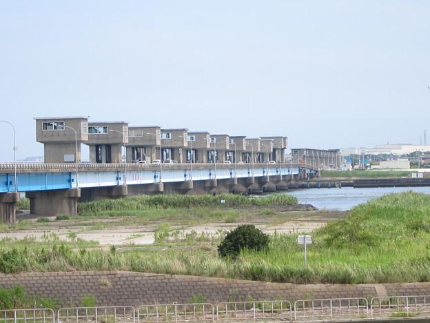 利根川河口堰 (2) - 写真共有サイト「フォト蔵」